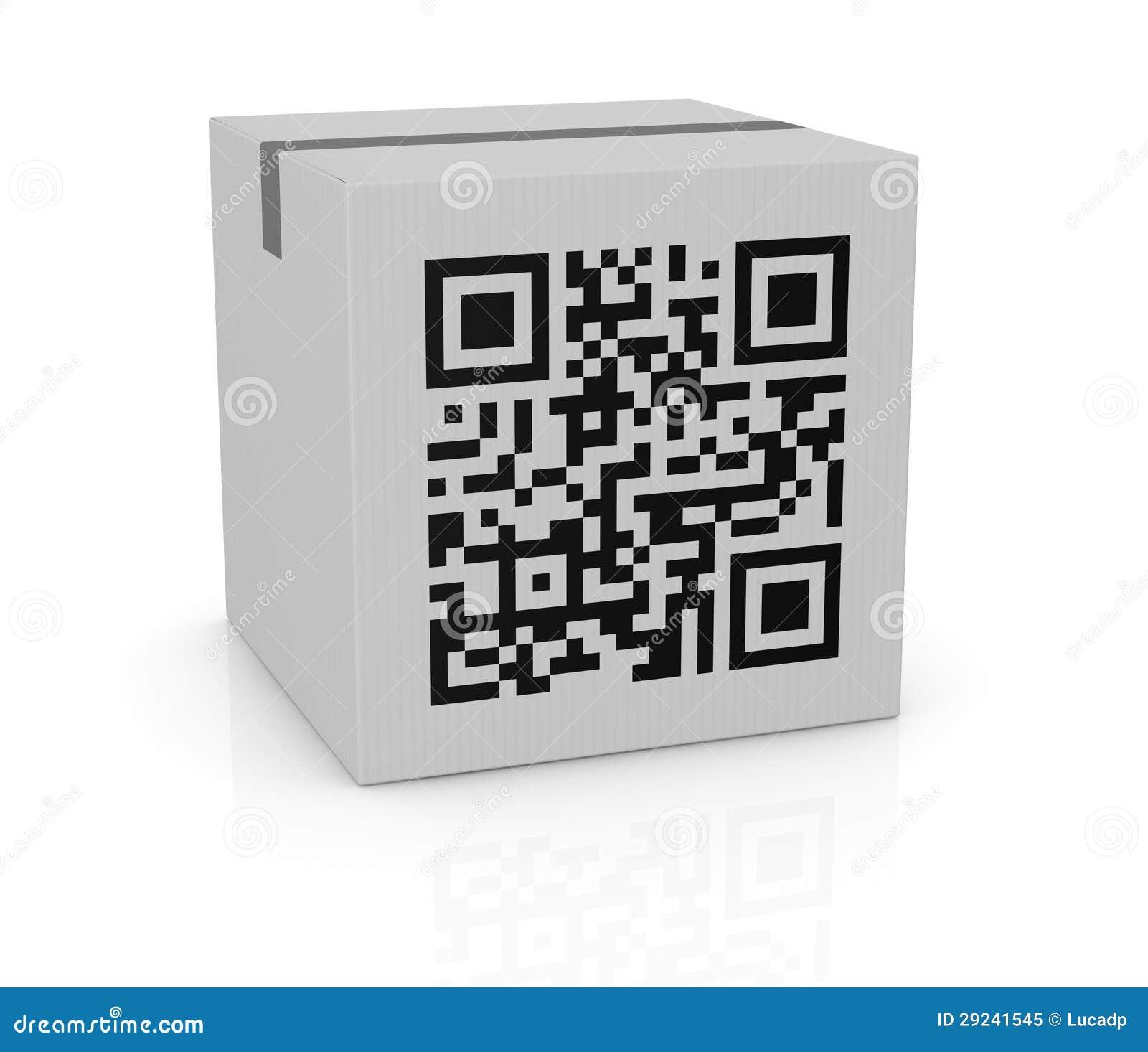Download Código de Qr ilustração stock. Ilustração de exploração - 29241545