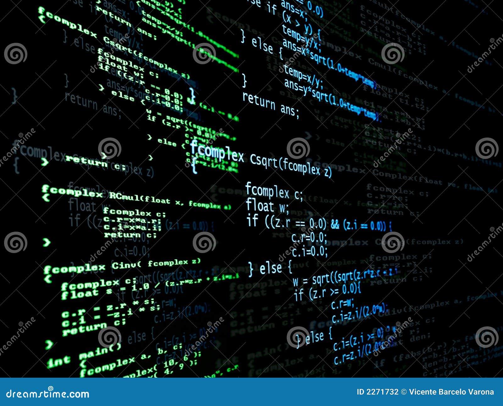 Código del programa de Digitaces