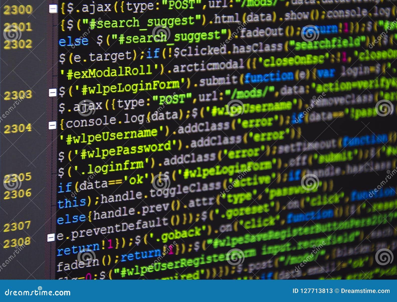 Código fuente del software Proyecto abierto de la fuente del Freeware Programación que se convierte y codificación de tecnologías
