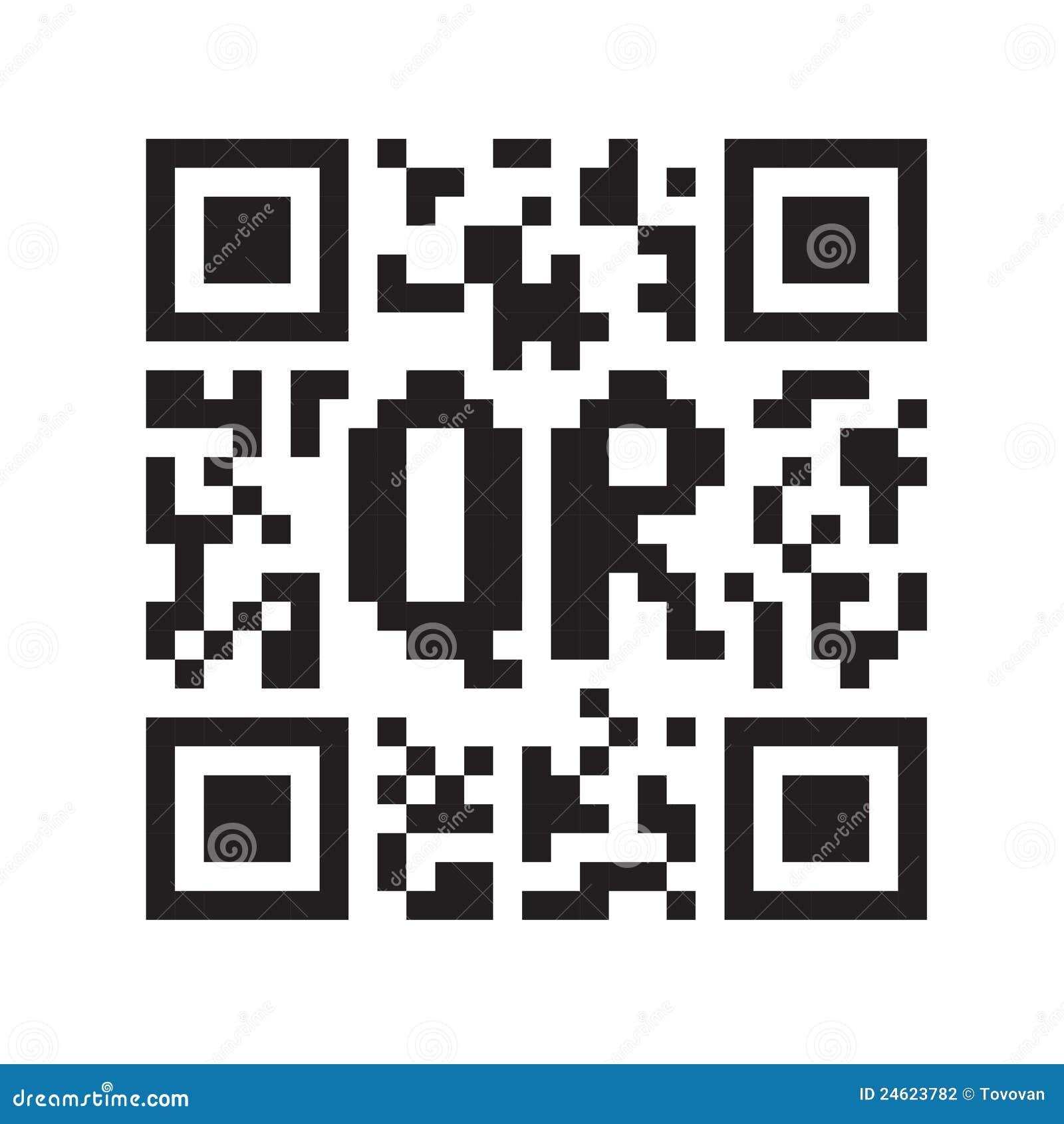 Código monocromático de QR