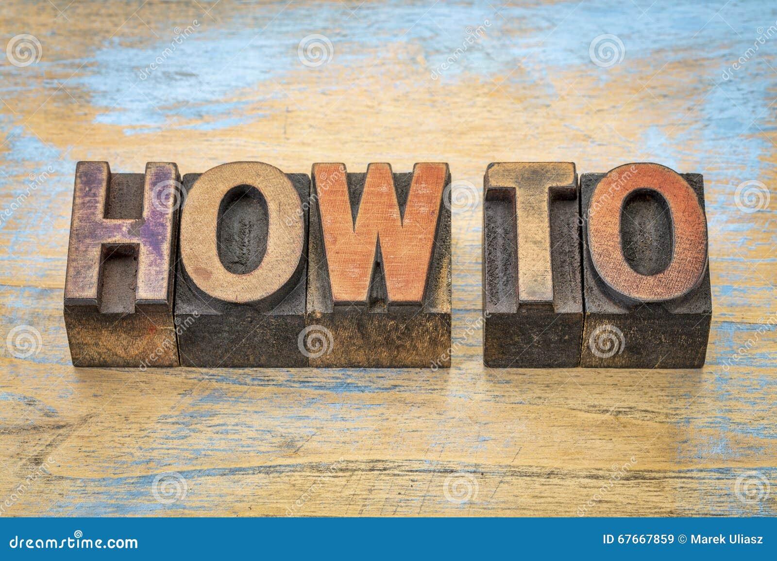 Cómo expresar en el tipo de madera