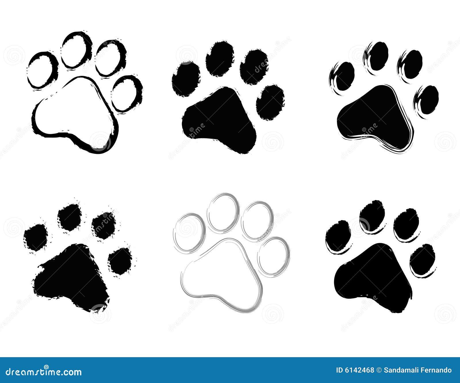 c243pias da pata ilustra231227o stock ilustra231227o de urso
