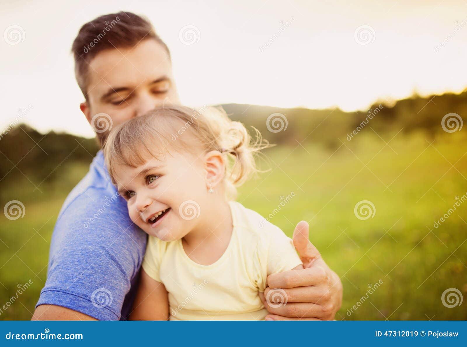 Córka grać ojca