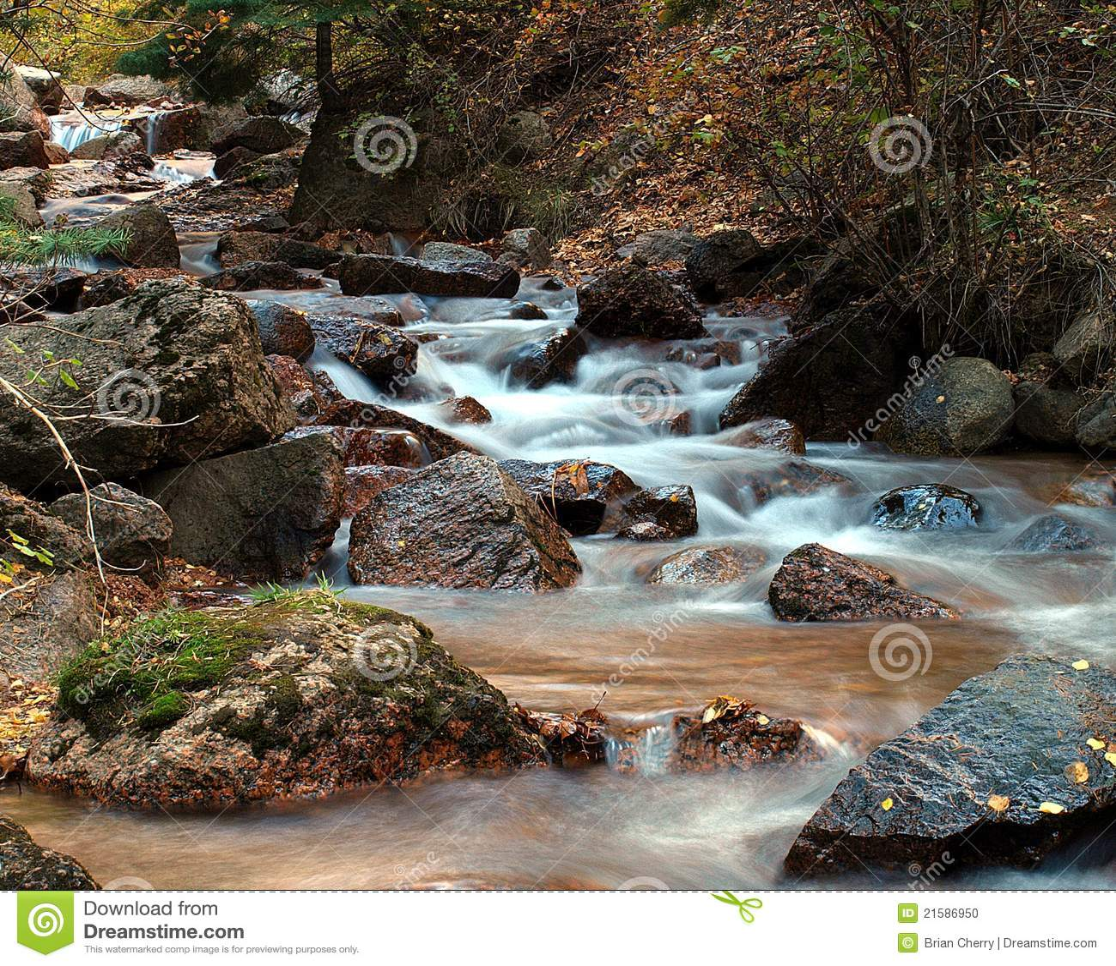 Córrego do outono