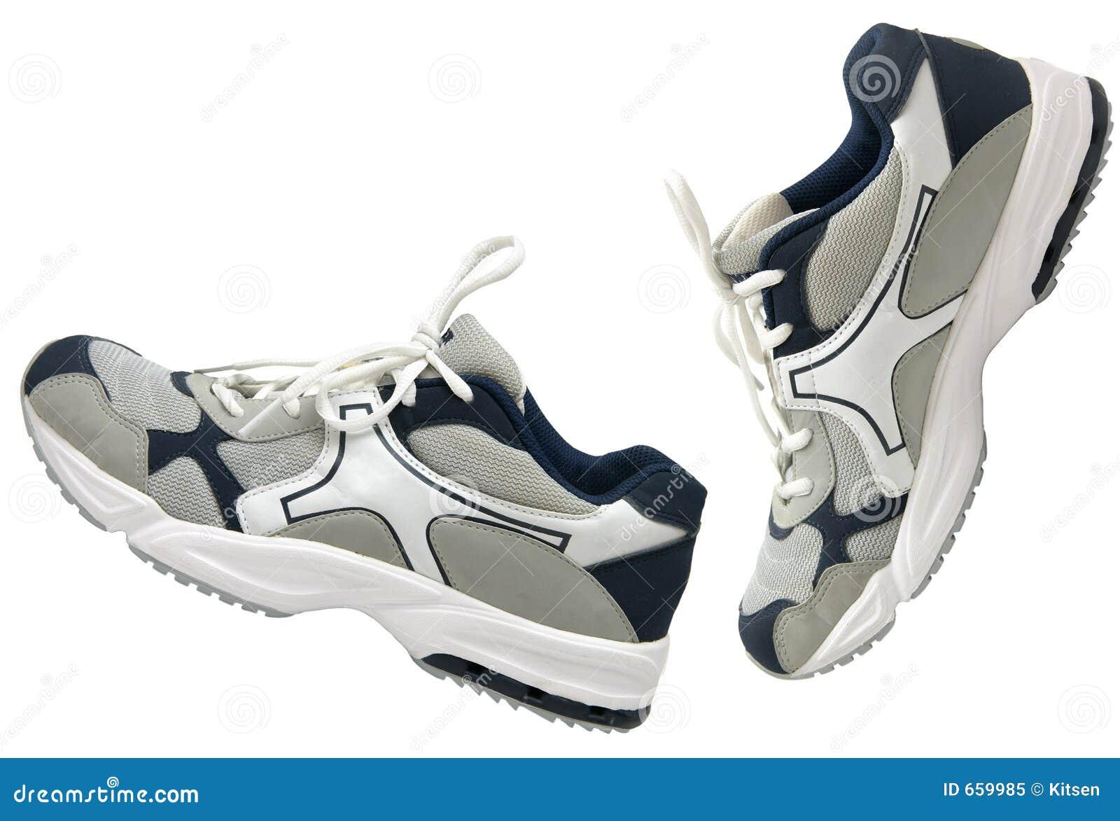 Côté de chaussures de sports