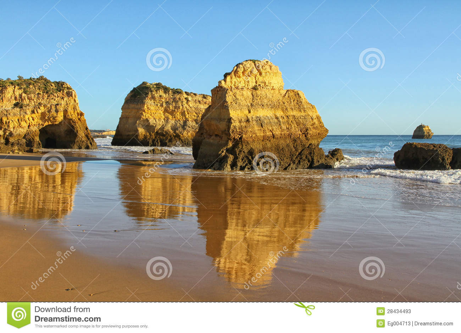 Côte et plage d Algarve