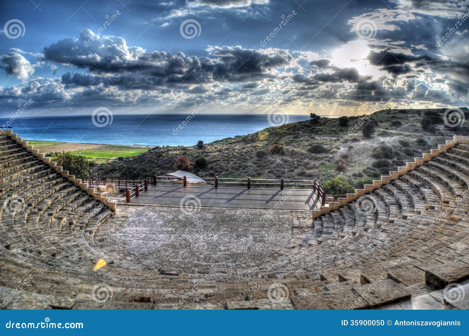 Cúrio Greco - Roman Amphitheatre em Limassol, Chipre