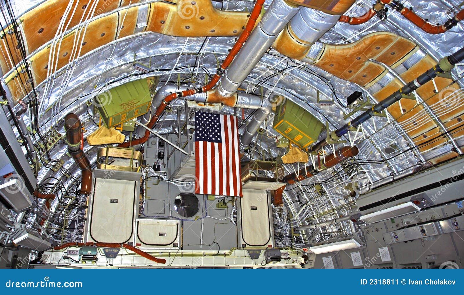 C-17 Globemaster jet interior  C 17 Interior