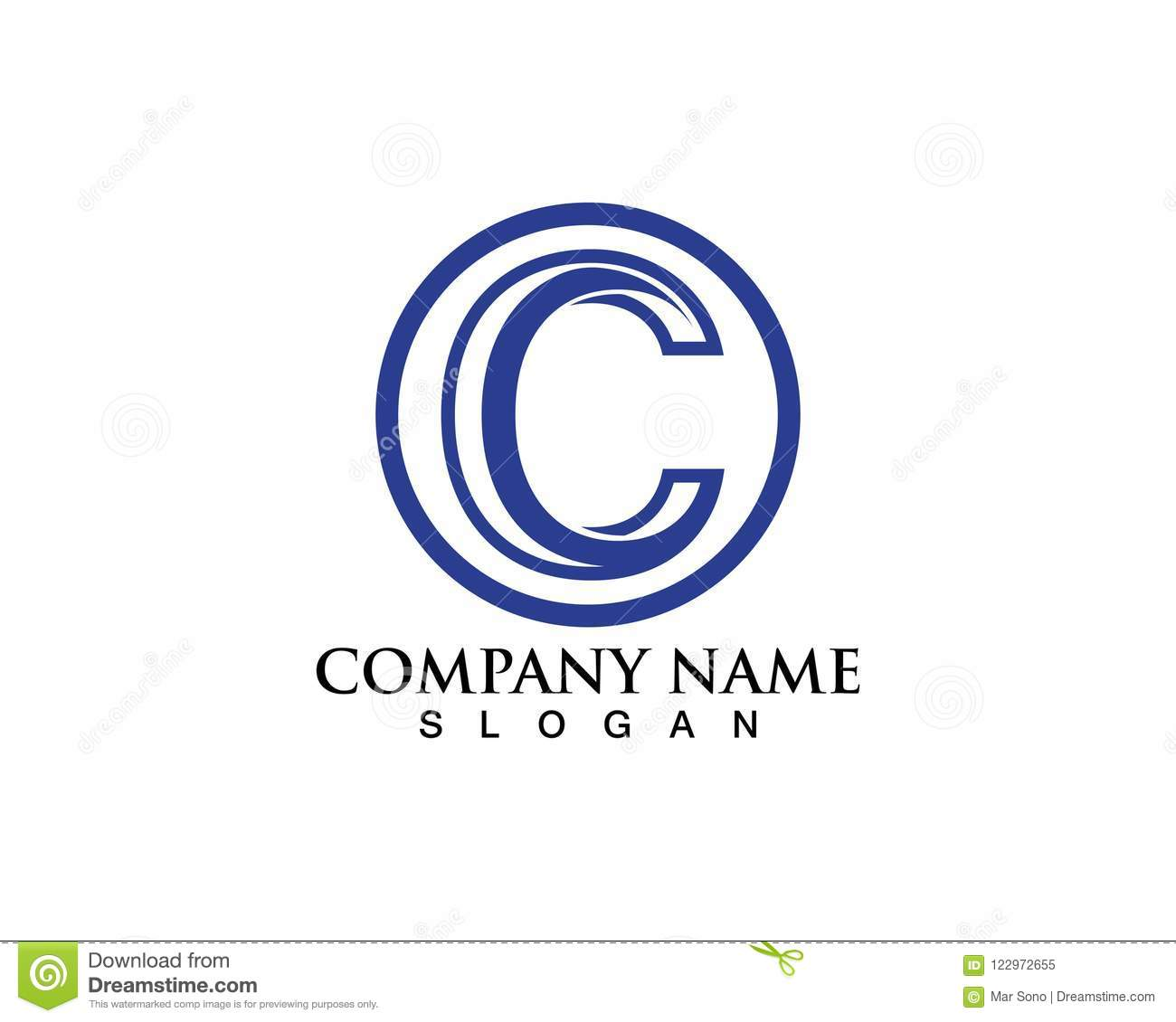 C Logo And Symbols Vector Template Stock Vector - Illustration of ...