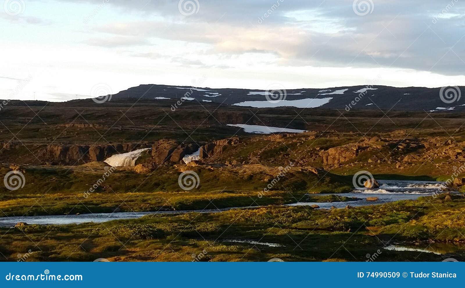 C t ouest de paysage de l 39 islande du pays photo stock for Agence paysage de l ouest