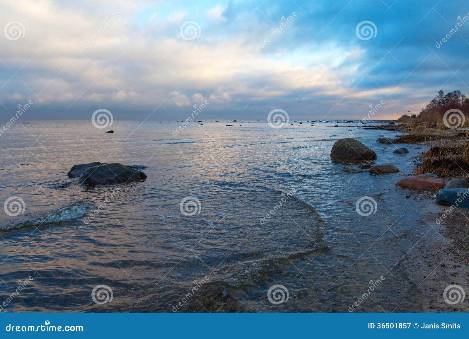 Côte baltique.