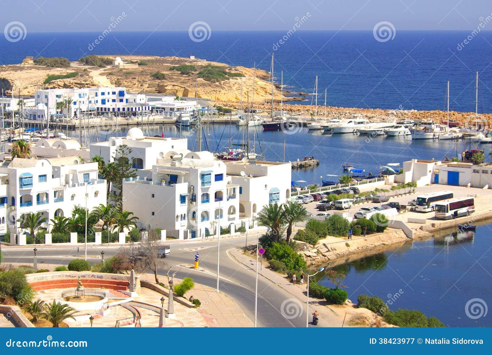 Côte dans Monastir, Tunisie en Afrique