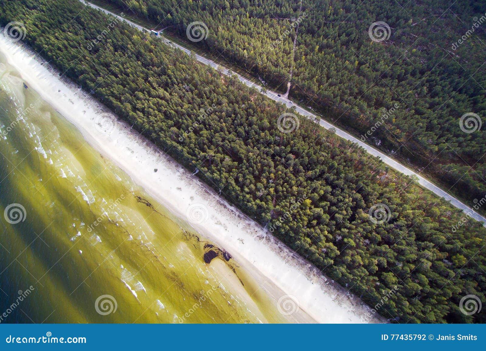 Côte de mer baltique, Lettonie