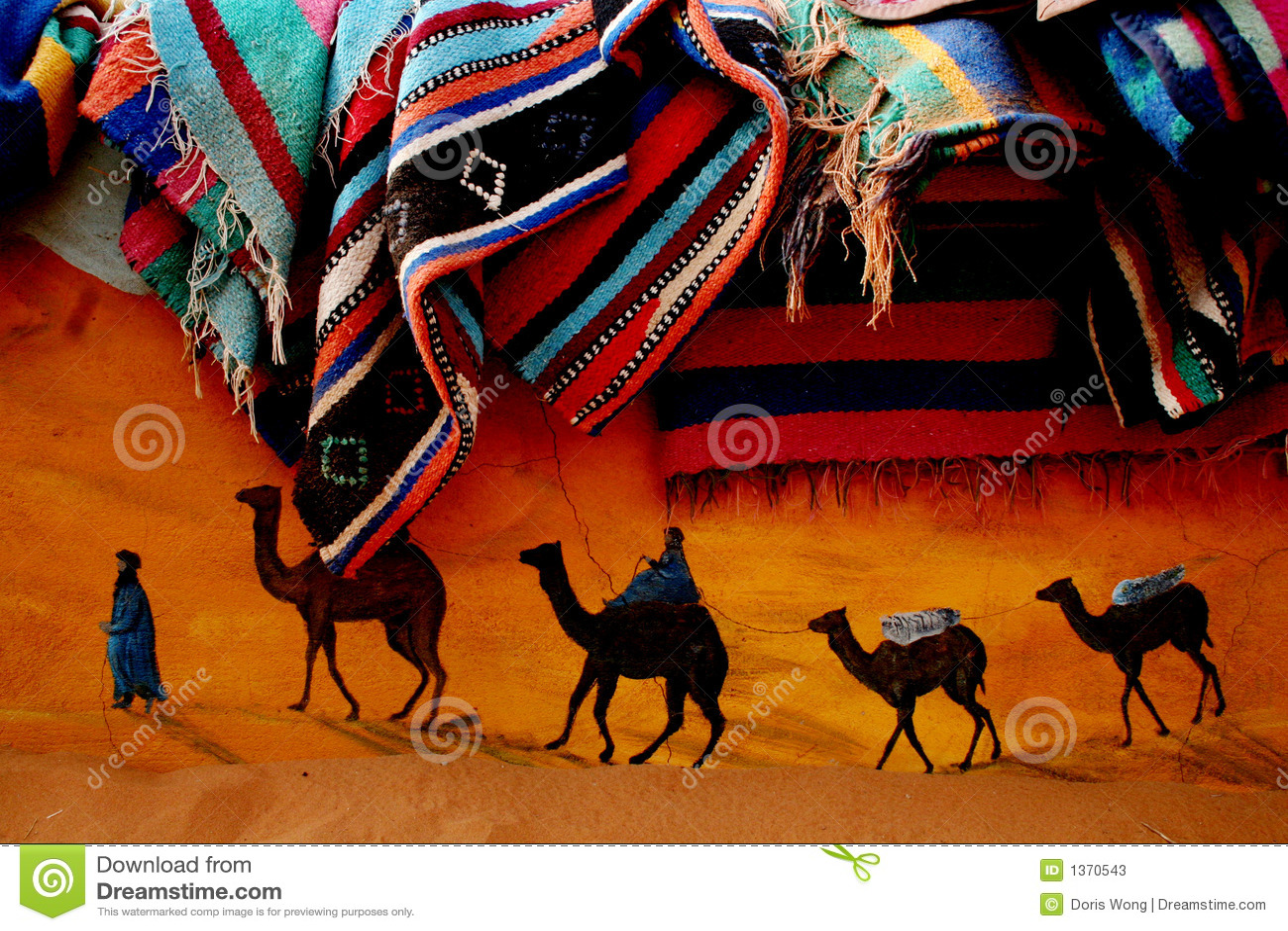 C wielbłąda dywan