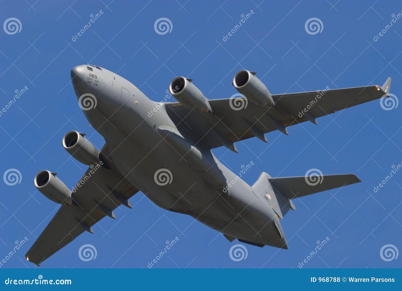 C17 Globemaster Transport Plane