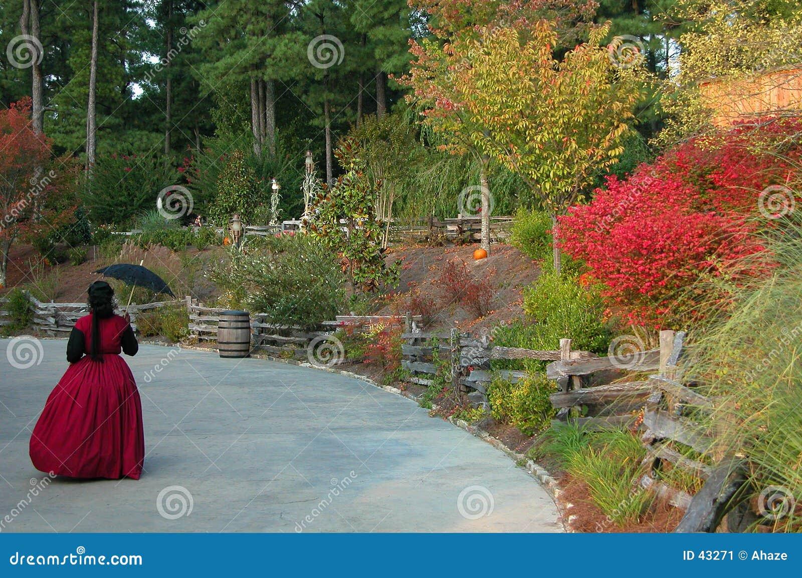 Download Caída En La Montaña De Piedra Georgia Imagen de archivo - Imagen de paraguas, otoño: 43271