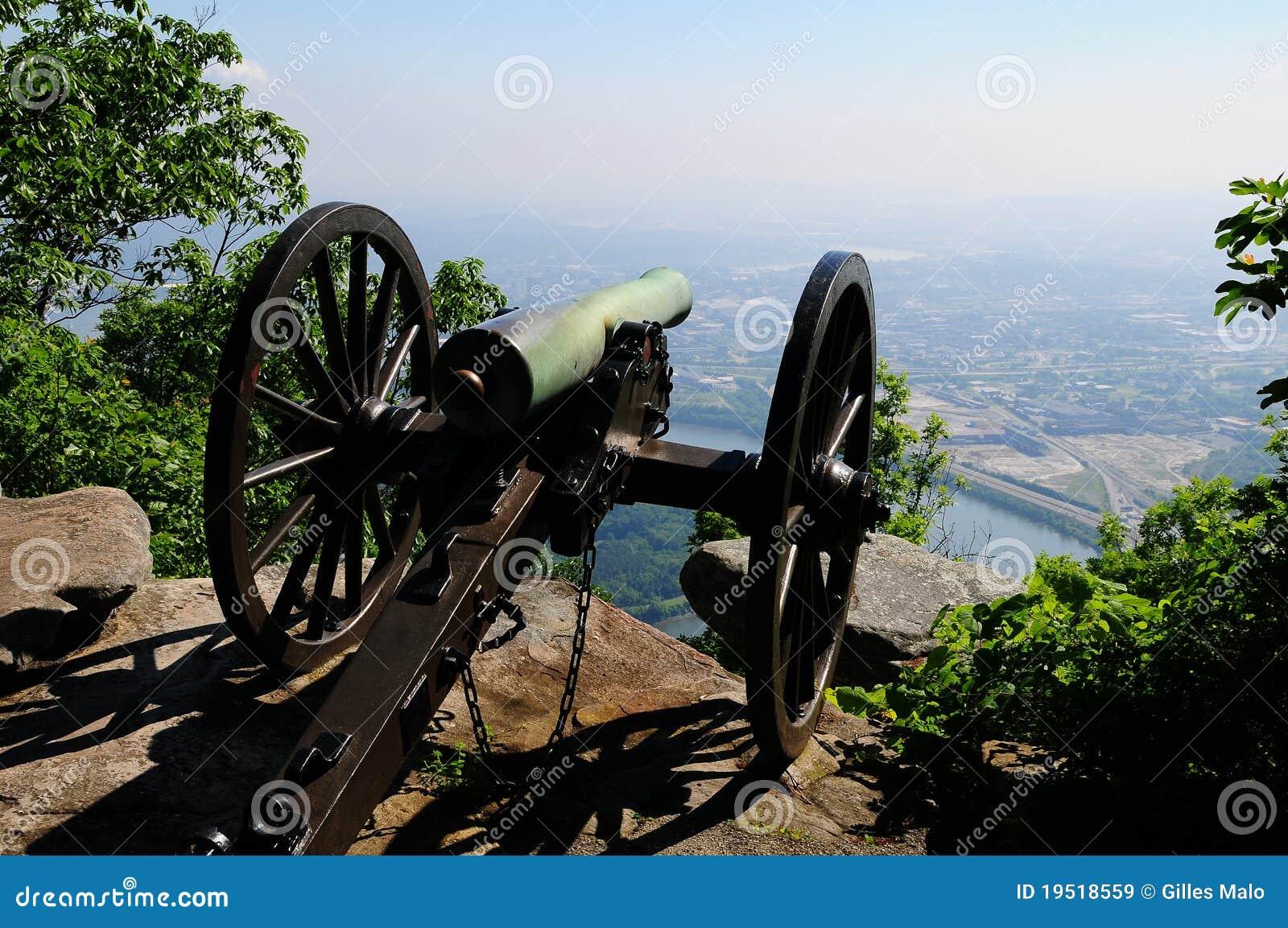 Cañón de la guerra civil