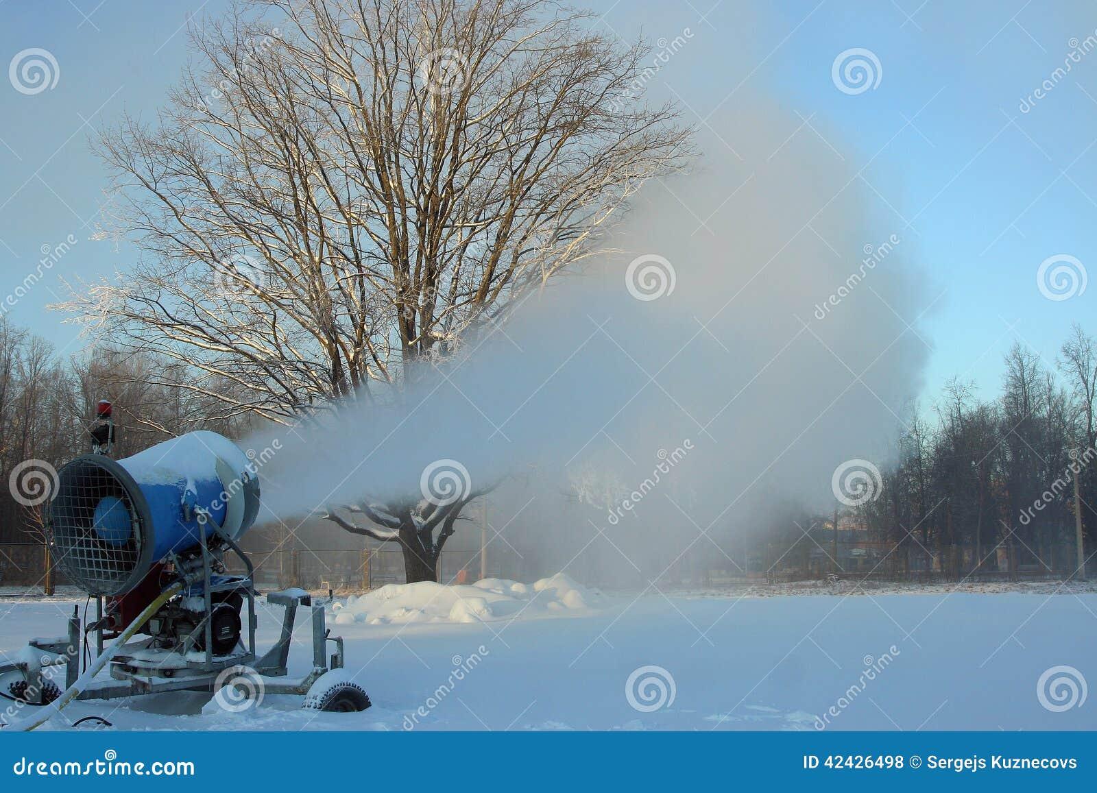 Cañón de la nieve