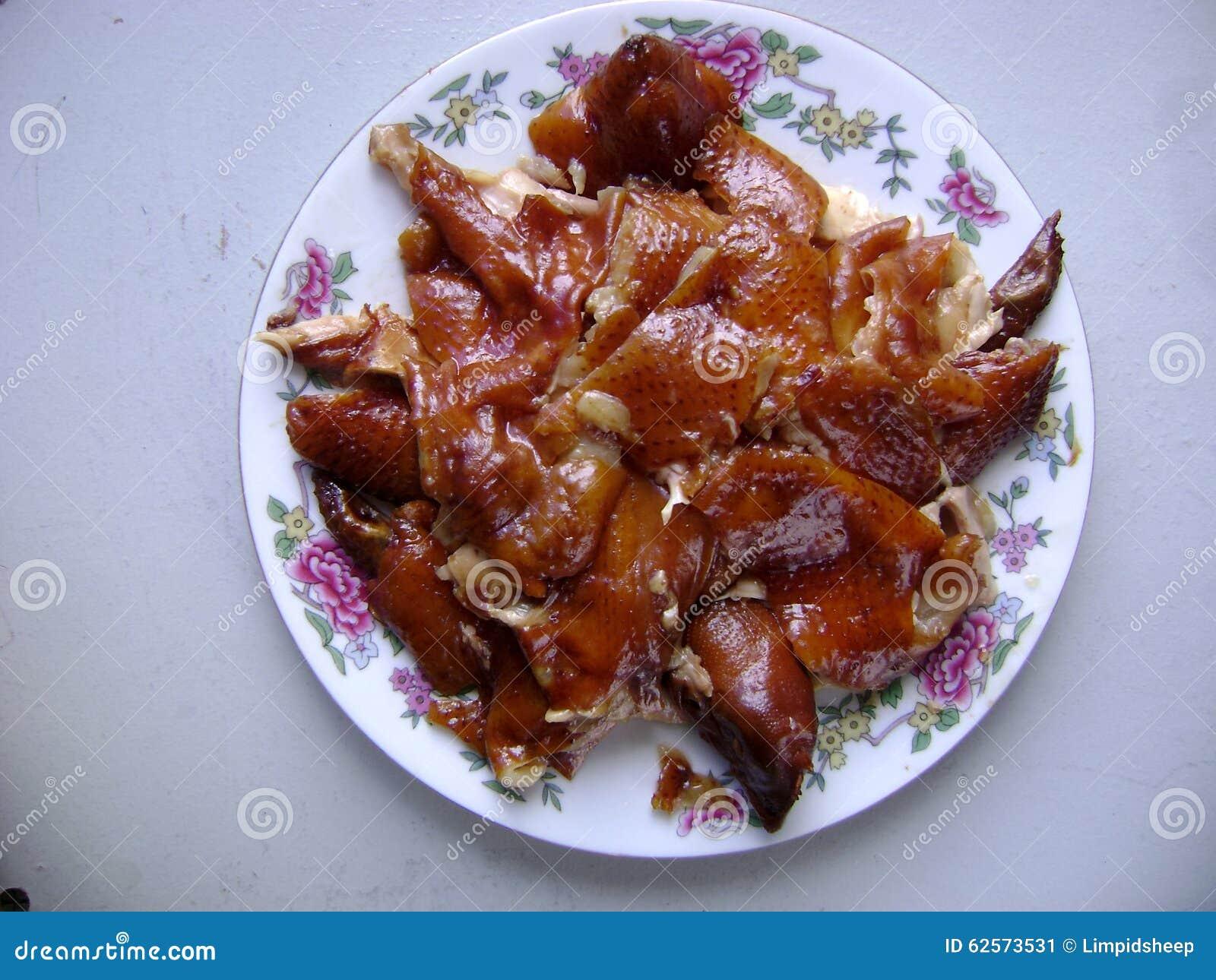 Całość sól Piec kurczaka