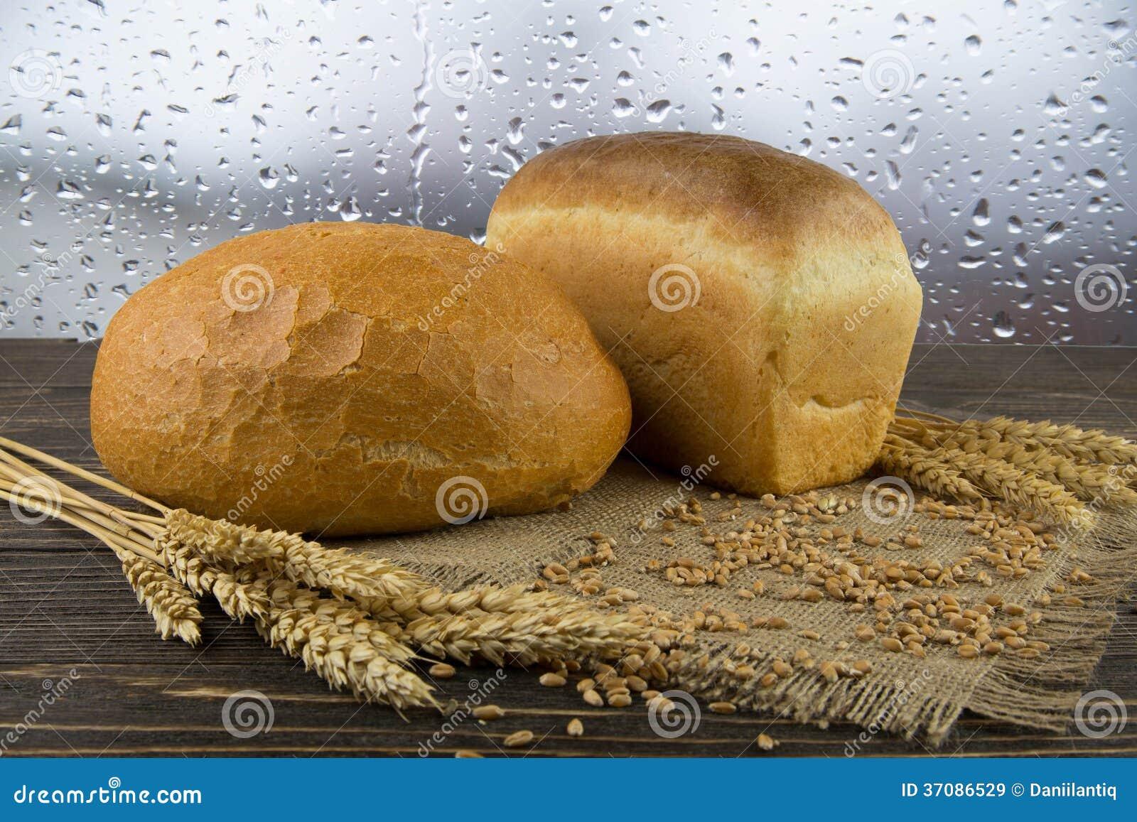 Download Całość zbożowego chleba obraz stock. Obraz złożonej z piekarnia - 37086529