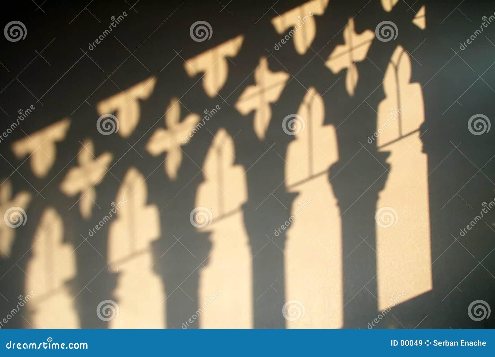Ca d Oro - ombres sur le mur