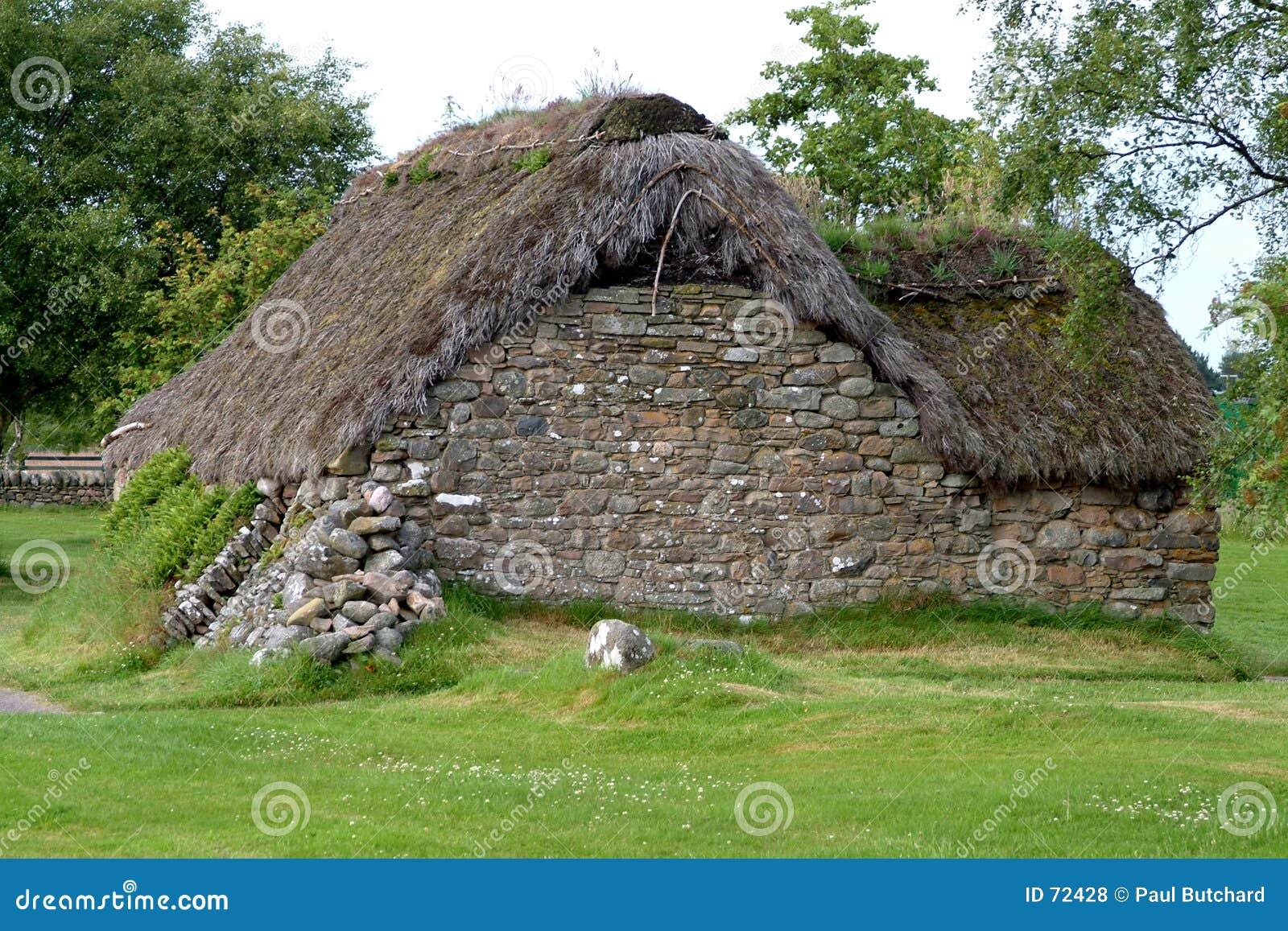 Cabaña de Leanach - Culloden, Escocia #1