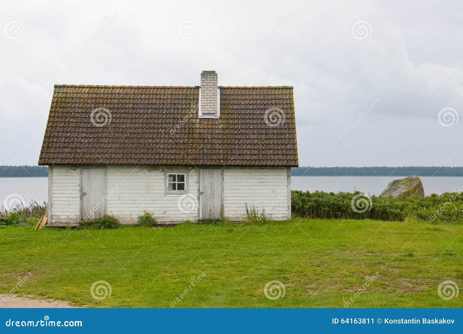 Cabana em terra