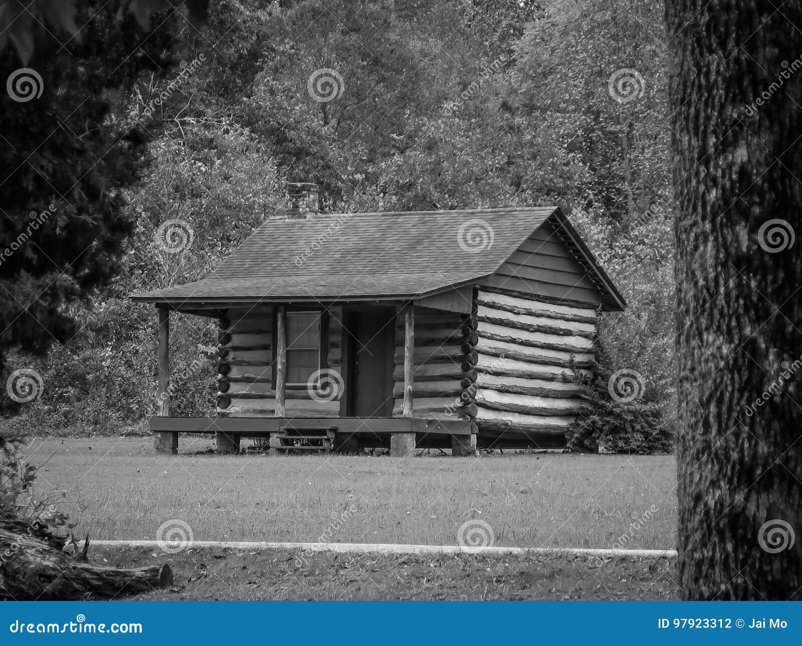 Cabana rústica de madeira Abraham Lincoln