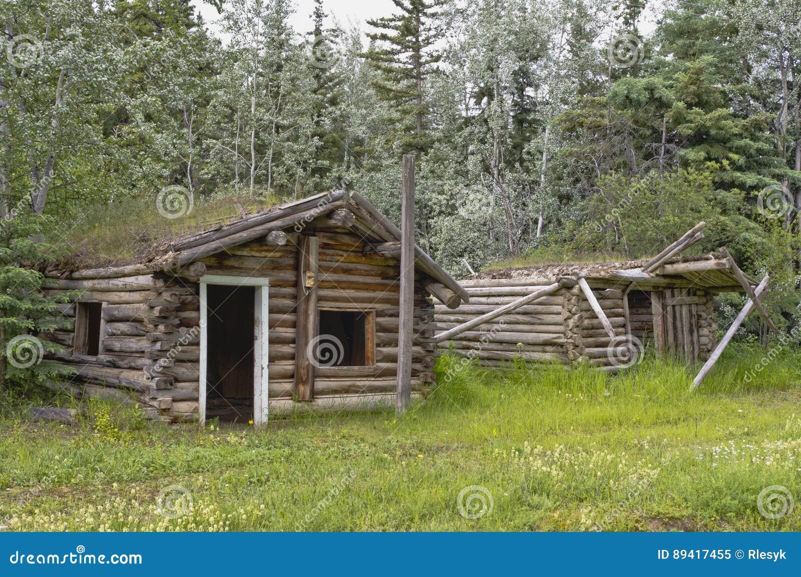 Cabana rústica de madeira do ` s do rei de Orloff do Prospetor