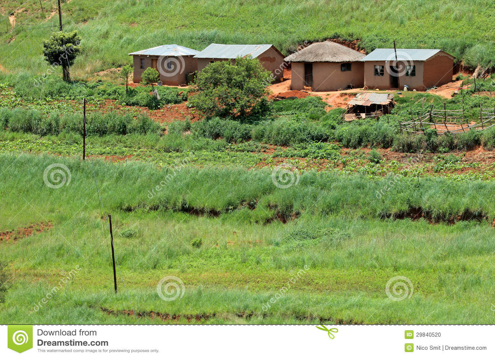 Pagamento rural, África do Sul