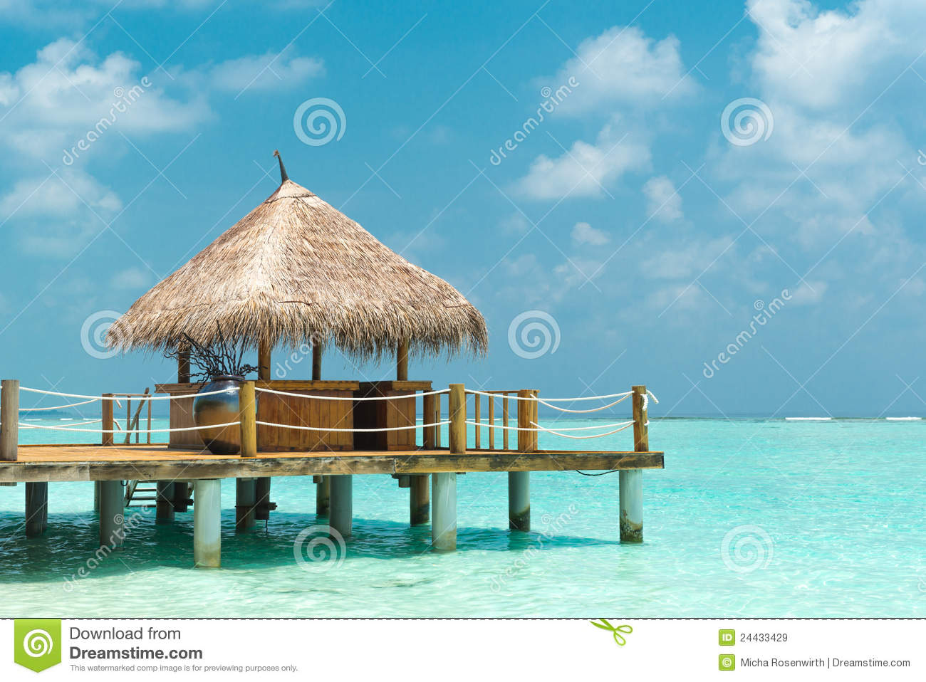 cabane de plage image stock image du contexte caribbean. Black Bedroom Furniture Sets. Home Design Ideas