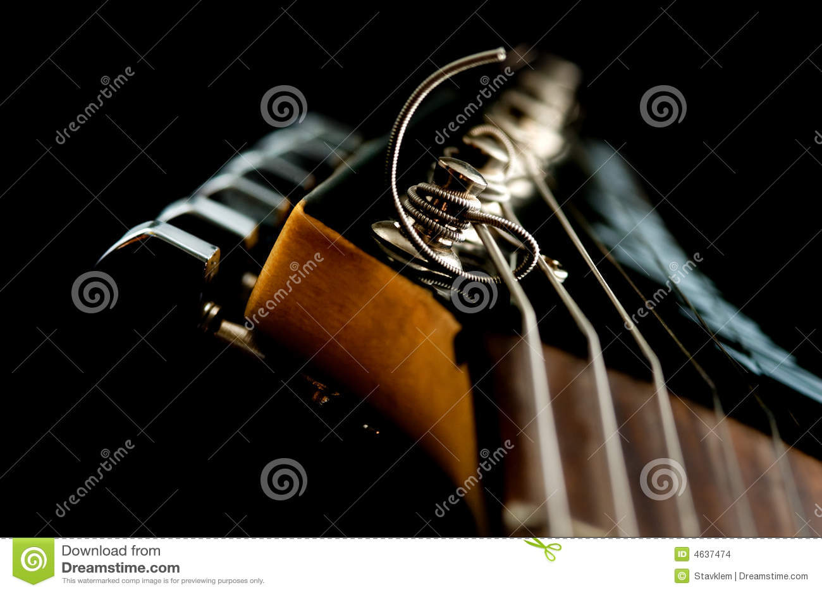 Cabeça da guitarra