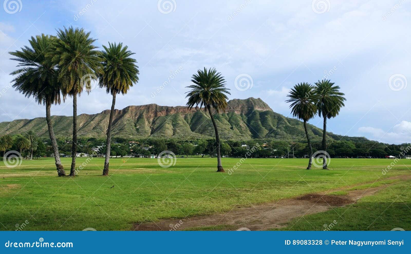Cabeça do diamante, Oahu, Havaí