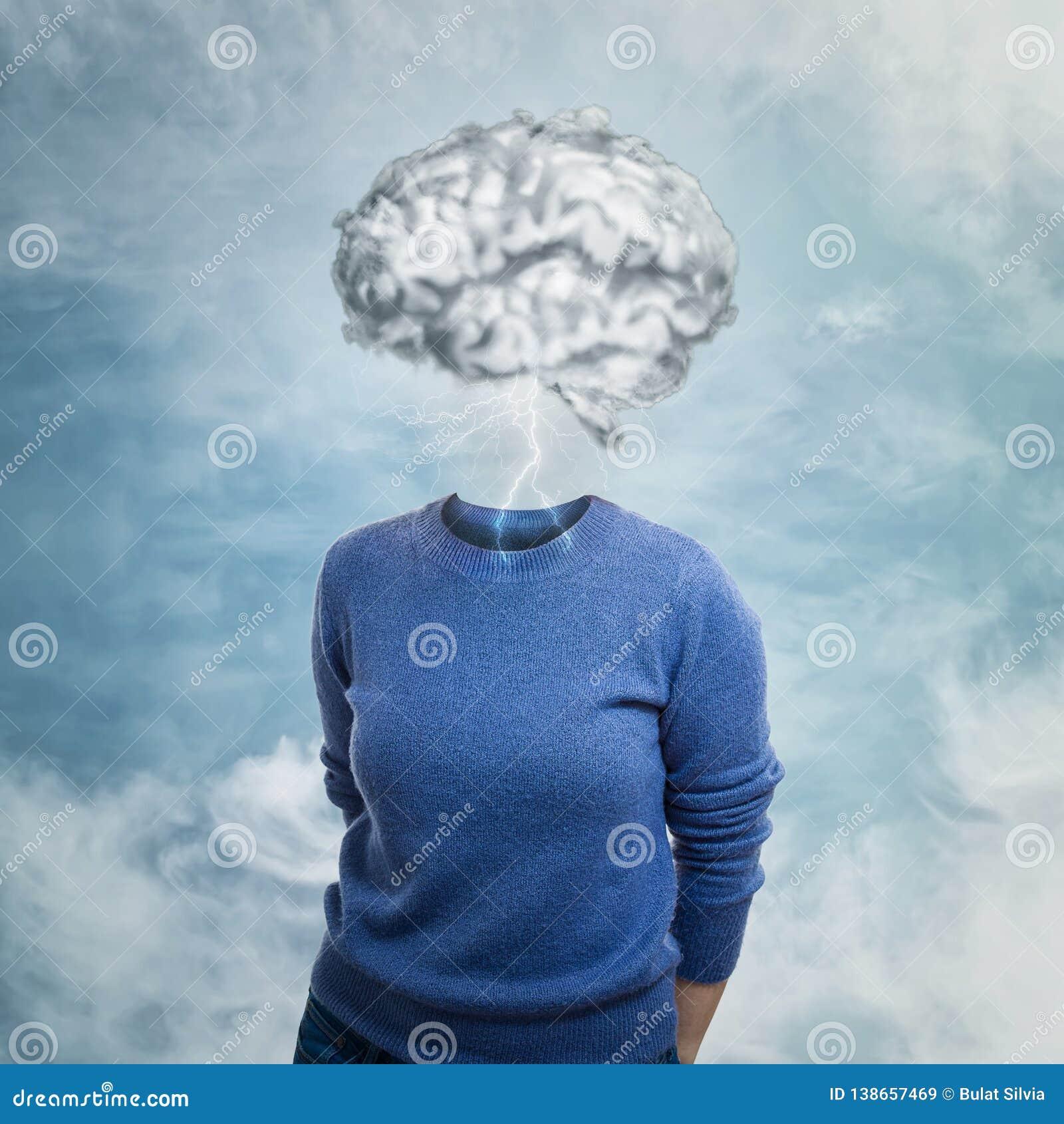 Cabeça nas nuvens