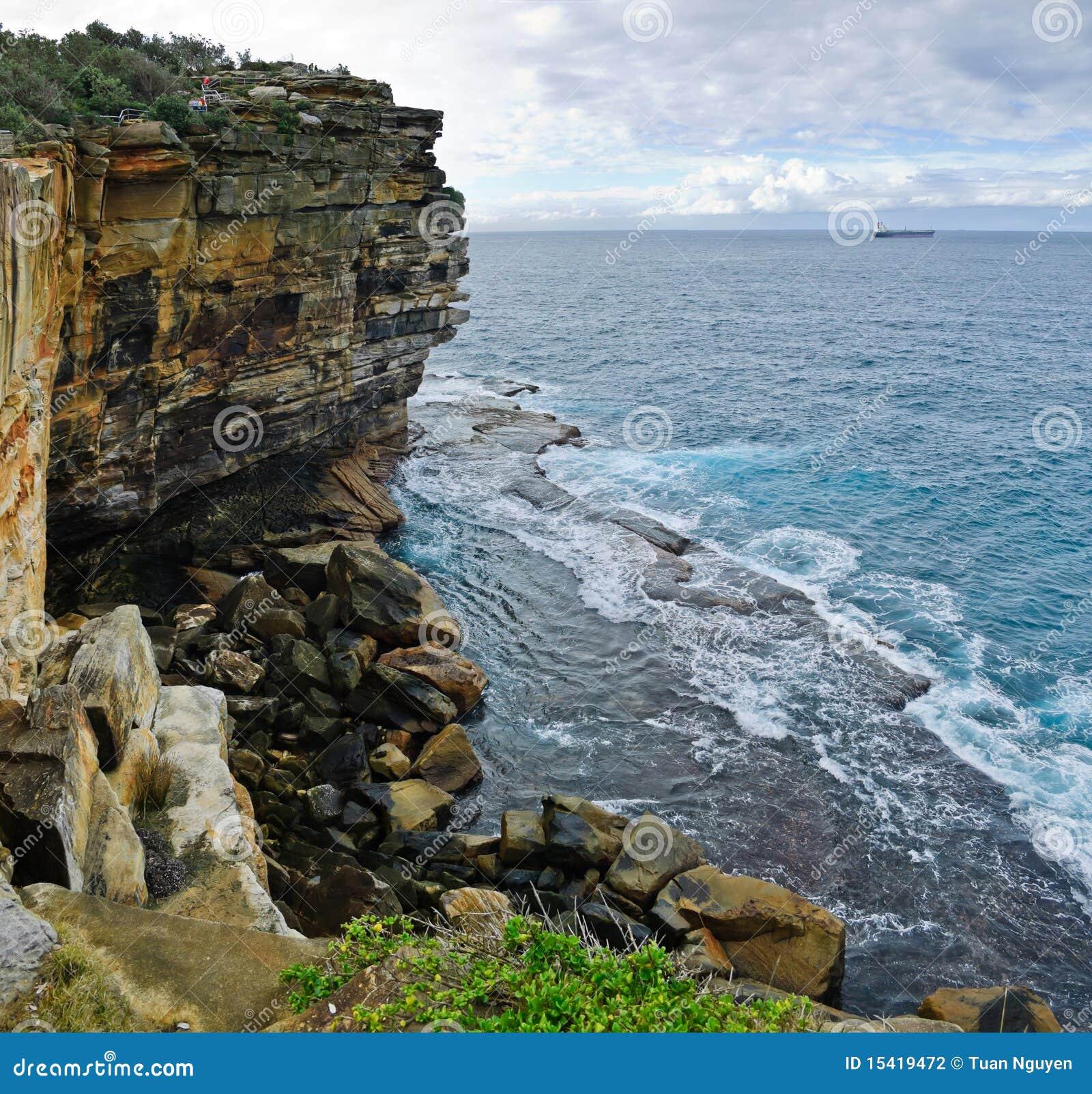 Cabeça sul do porto de Sydney