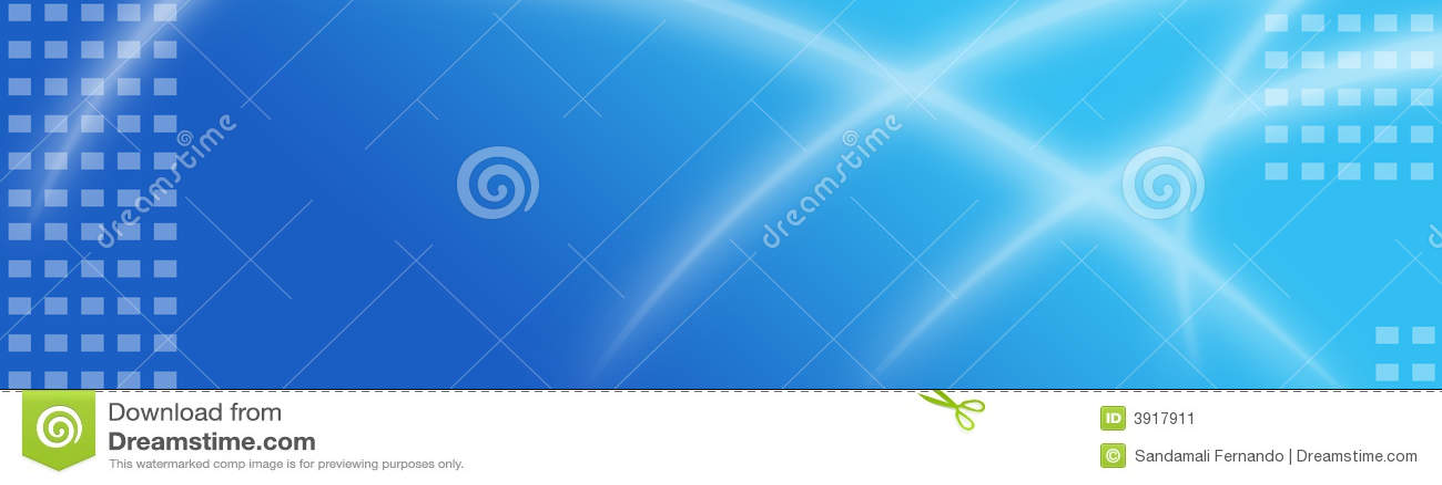 Cabecera/bandera abstractas del Web