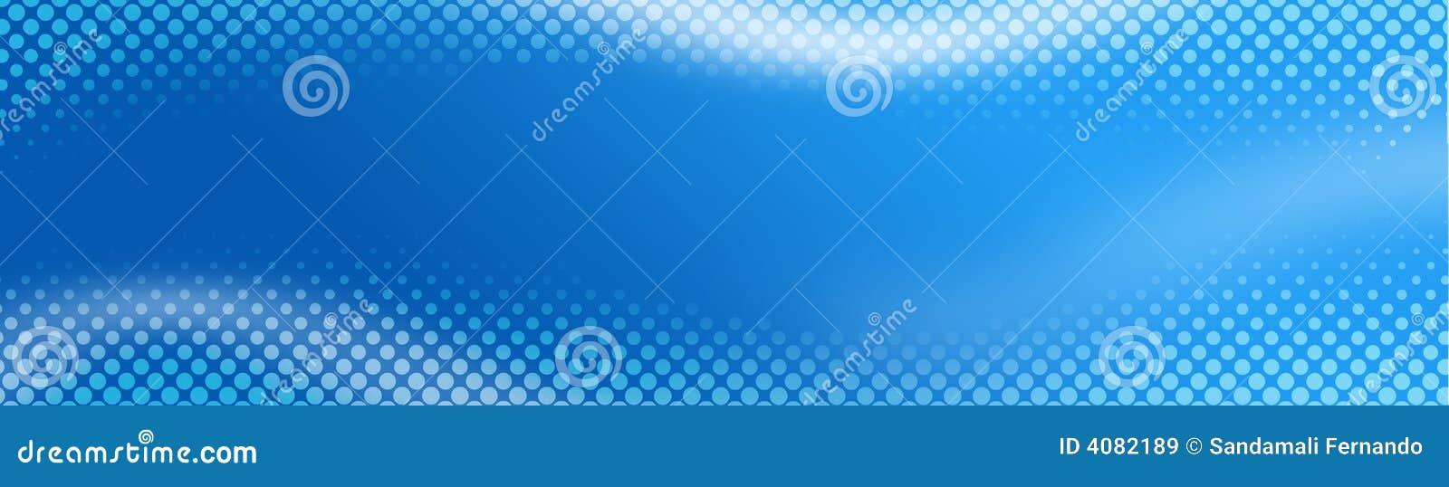 Cabecera/bandera de semitono del Web
