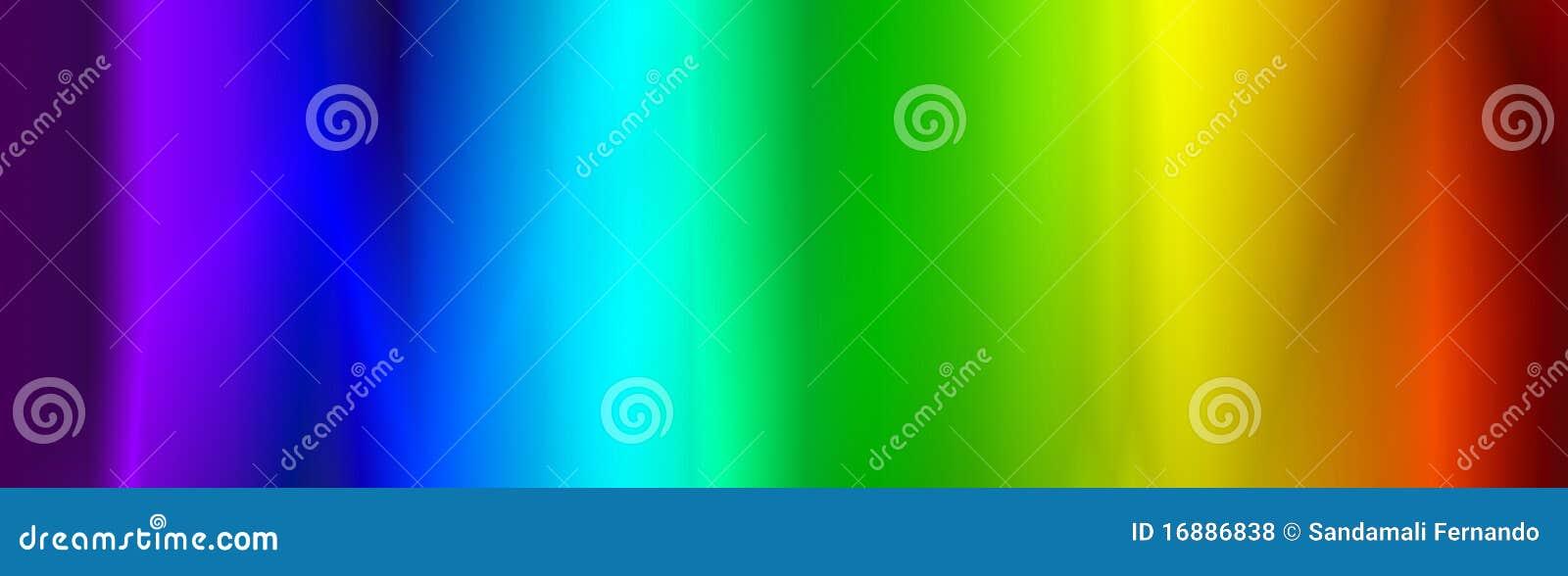 Cabecera/bandera del Web del arco iris