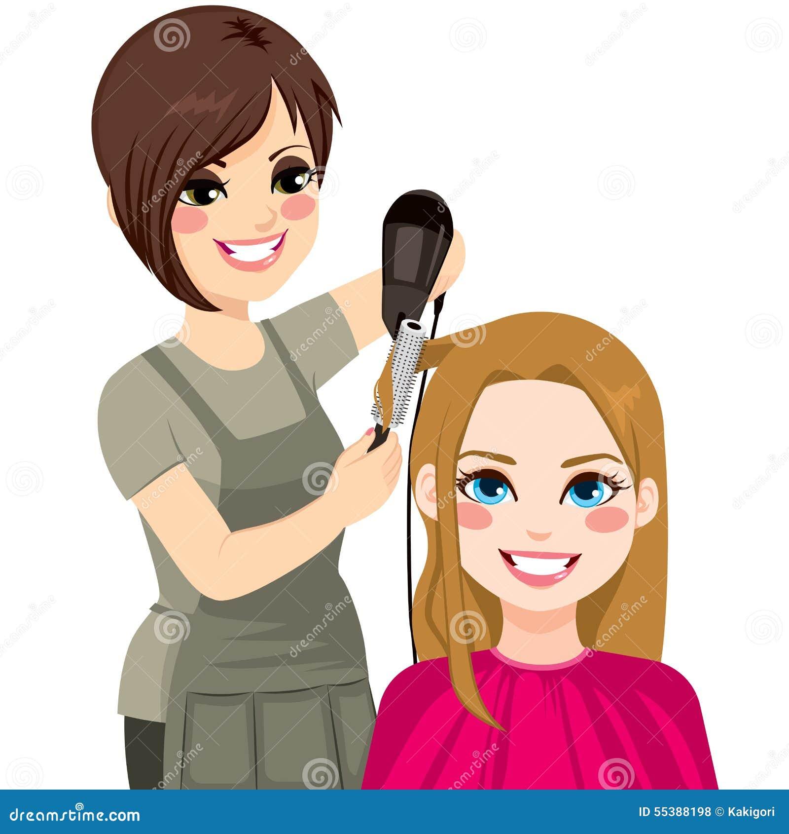 Cabeleireiro Drying Hair