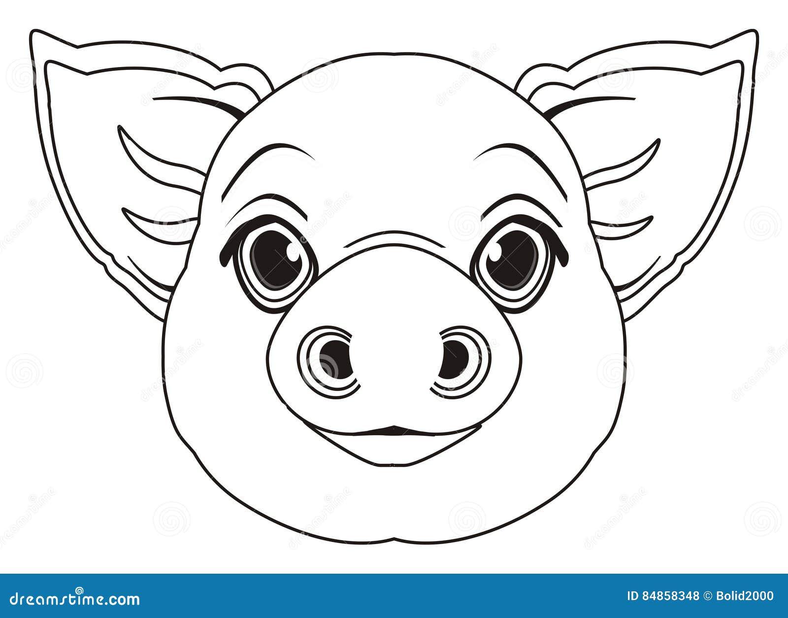 Lujo Páginas Para Colorear De Cerdos Y Lechones Embellecimiento ...