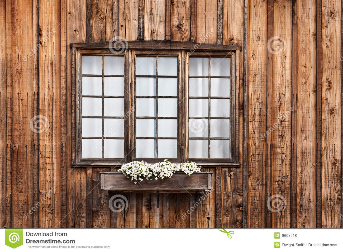 Cabin Window Stock Photo Image Of Colorful Village Panes 8607918