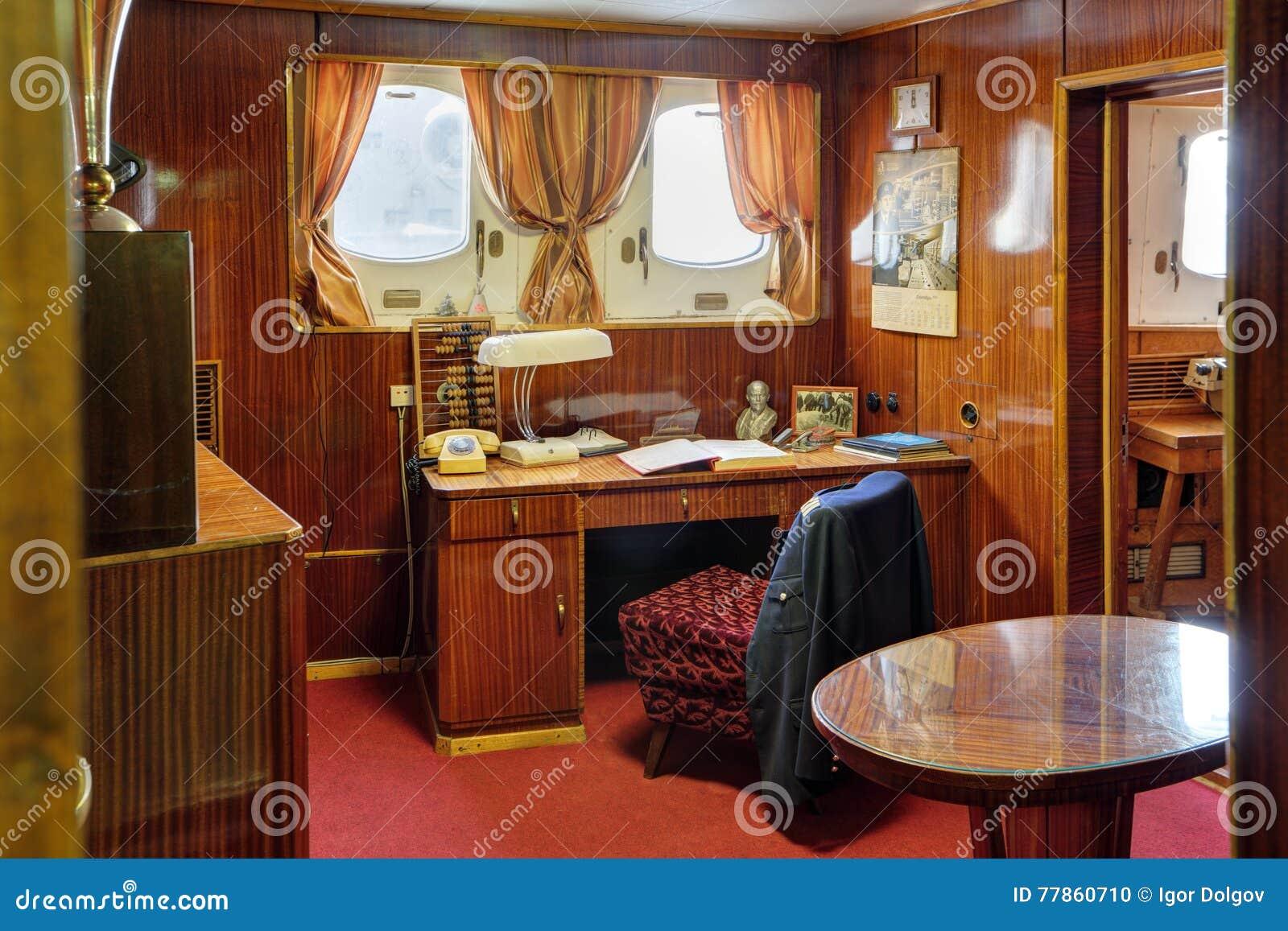 Cabina del capitano immagine editoriale immagine di for Cabina del biscotto di marthastewart com