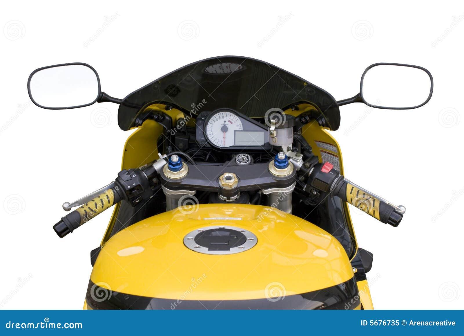 Cabina di guida del motociclo