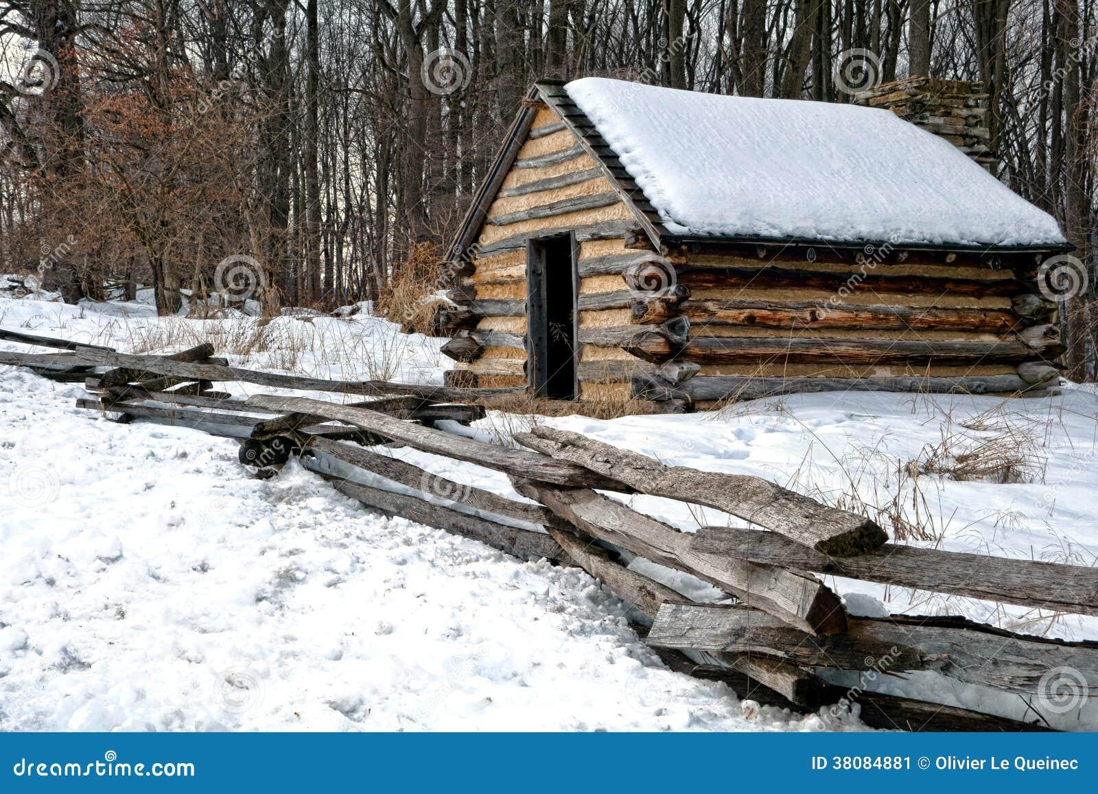 cabina di legno dell 39 esercito anziano al parco nazionale