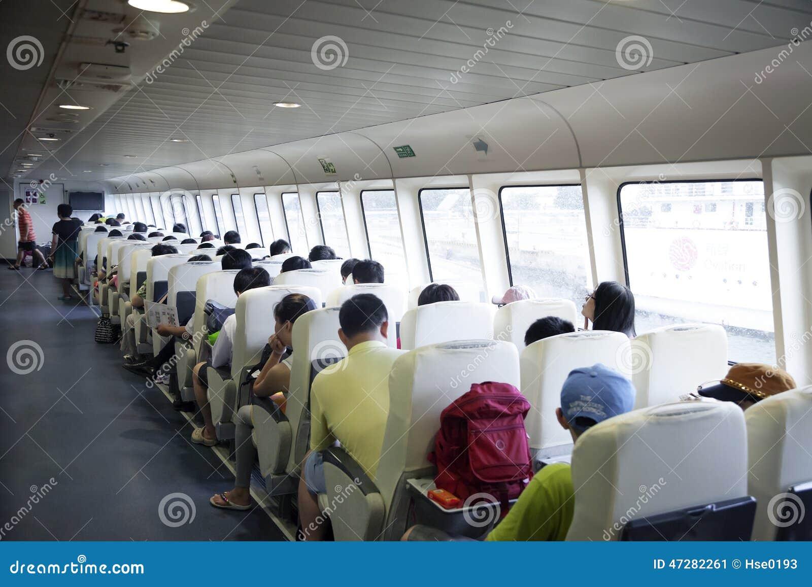 Cabina di passeggero interna della nave fotografia for Affitti della cabina di whistler