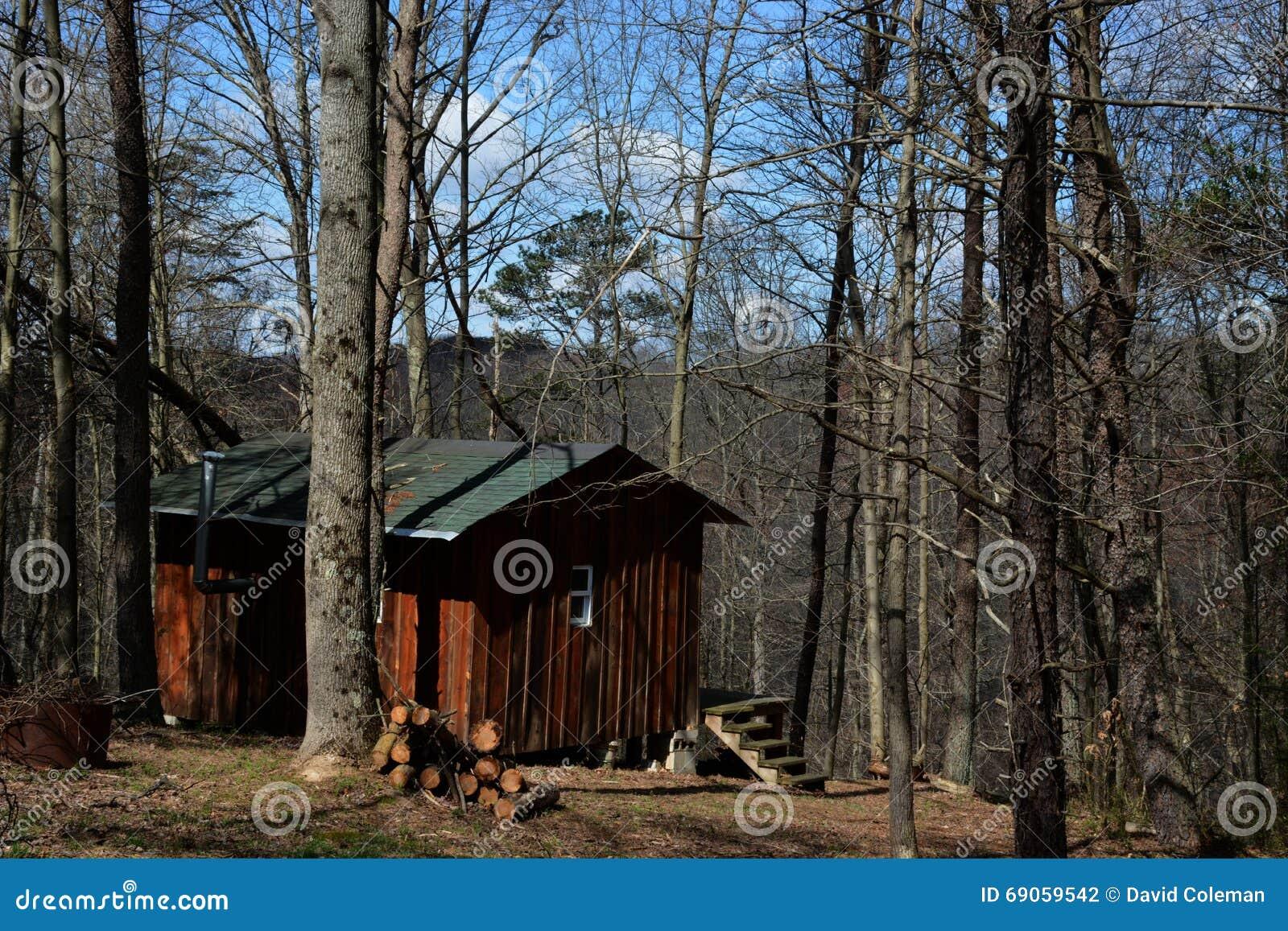 Cabina en el bosque