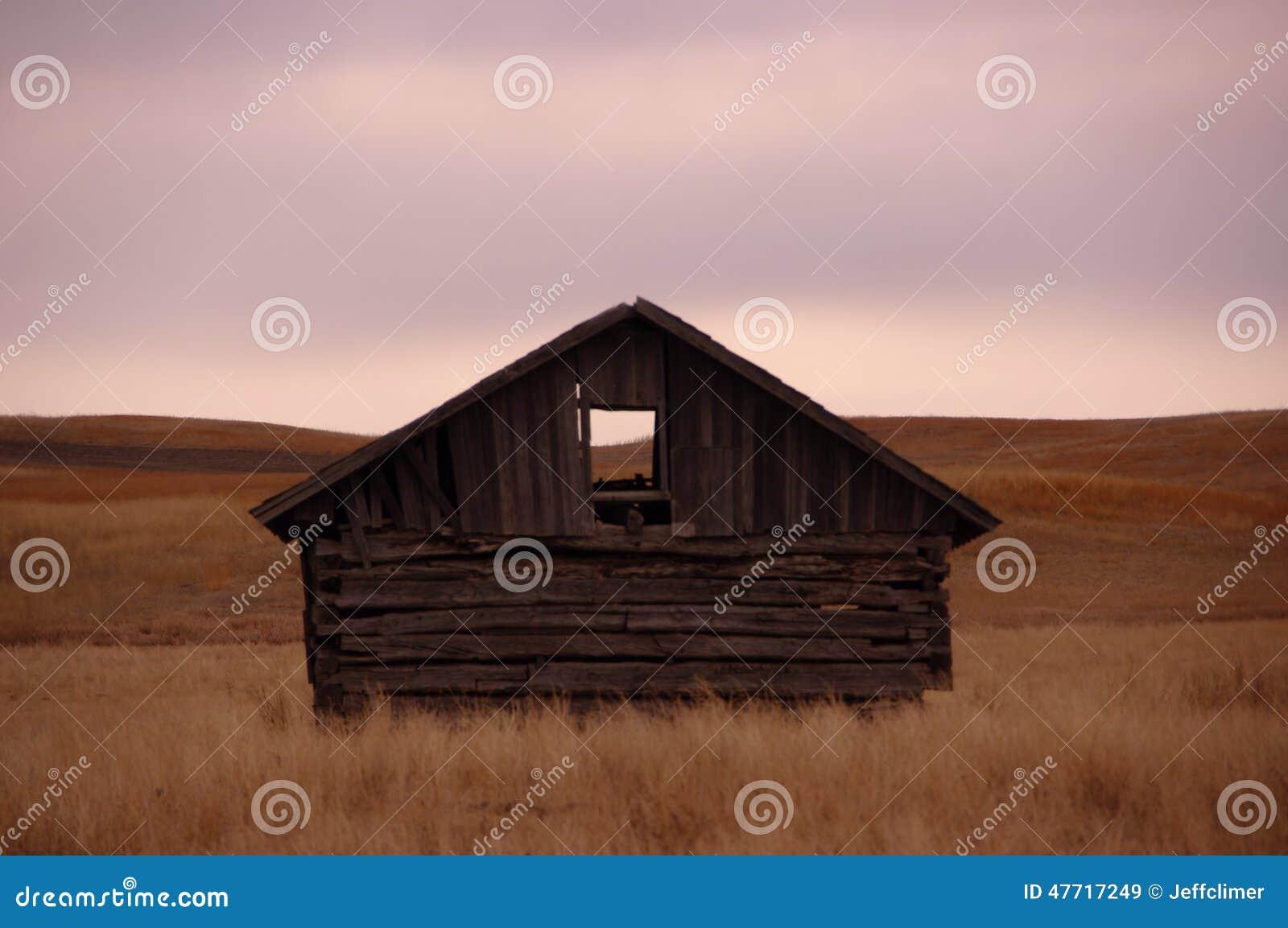 Cabina en la pradera