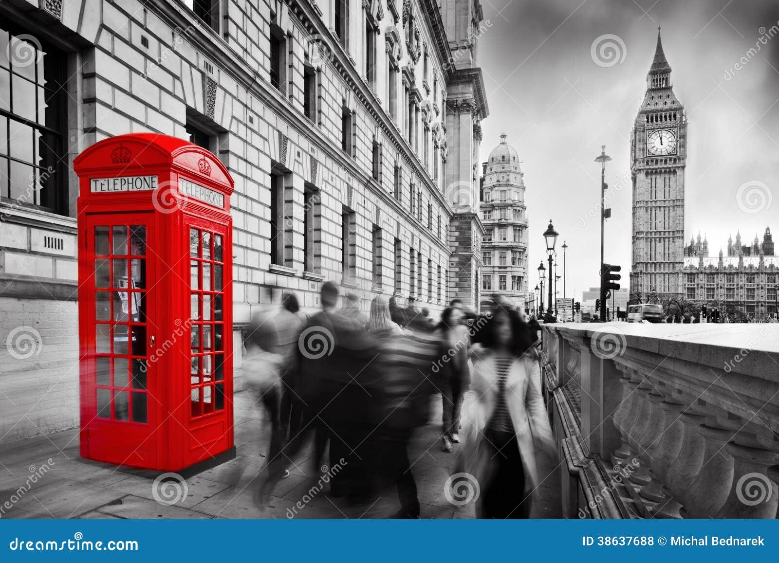 Cabina y big ben de tel fono roja londres reino unido for La cabina di zio ben
