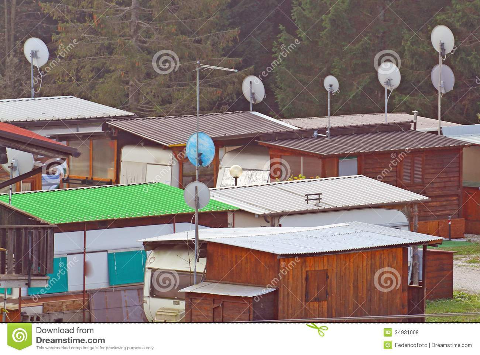 Cabinas de la caravana y del campo equipadas para las emergencias humanitarias