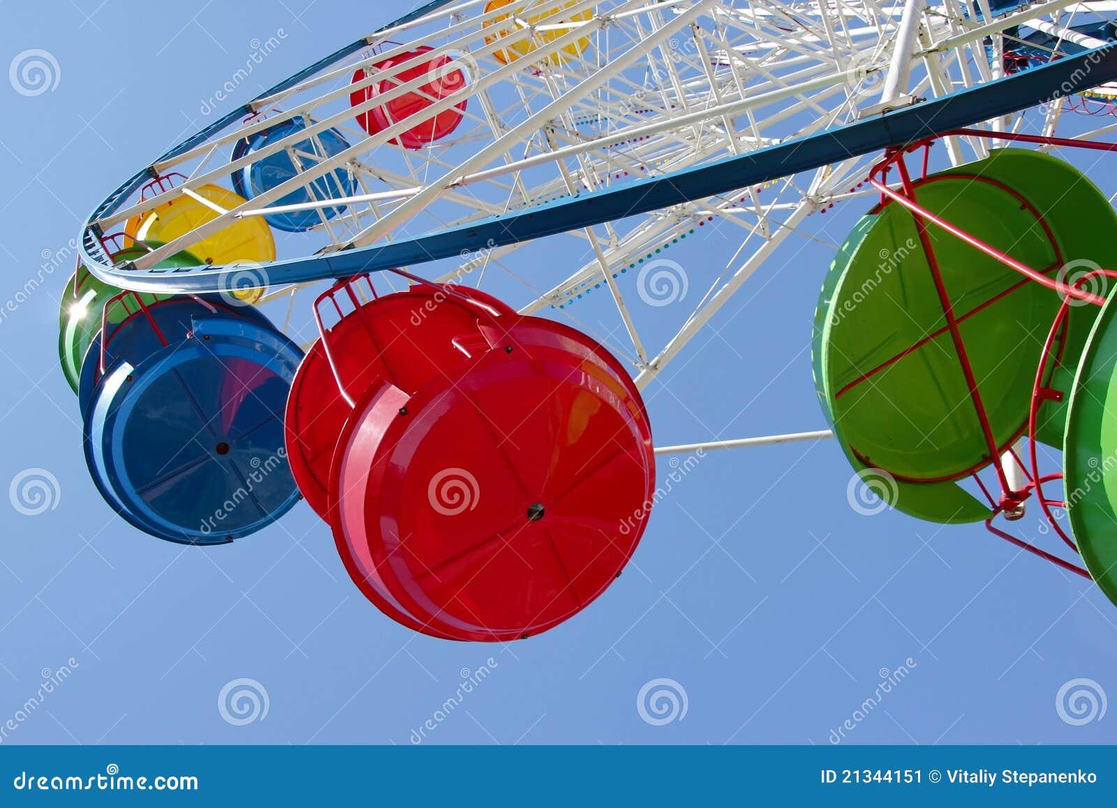 Cabinas de la rueda de Ferris